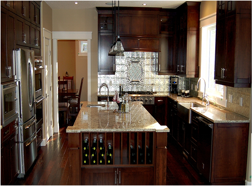 Custom kitchens - Cabinets - Woodworking